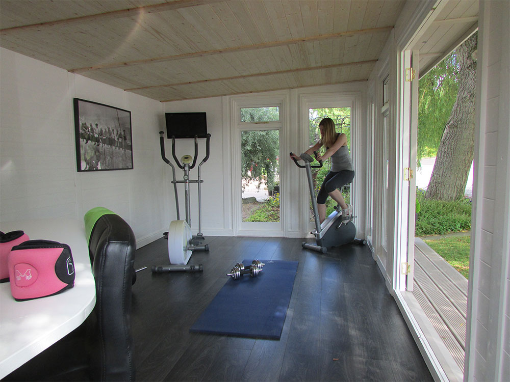 home gyms ideas garage - Garden Gym